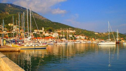 Harbor in Cephalonia