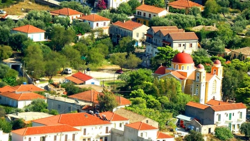 Aerial view of Cephalonia