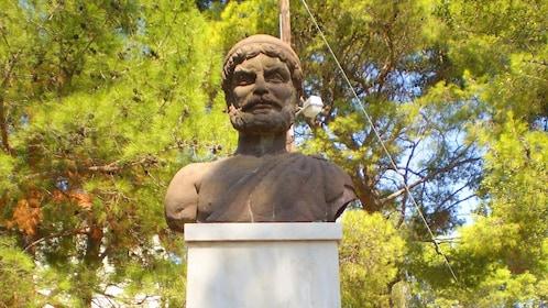 Greek Statue in Cephalonia