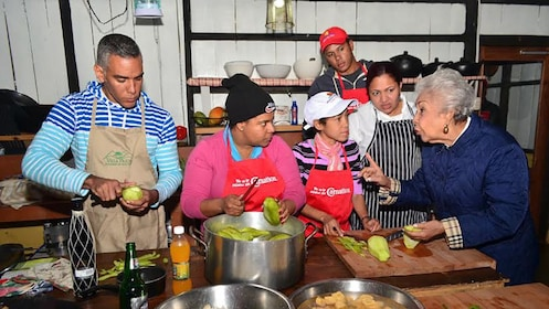 Cooking class in the Dominican Republic