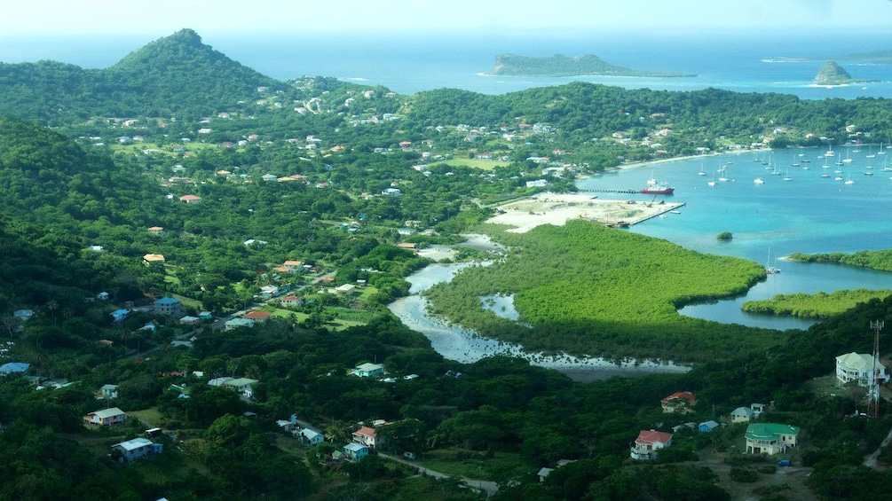 Show item 2 of 5. Ariel view of Carriacou