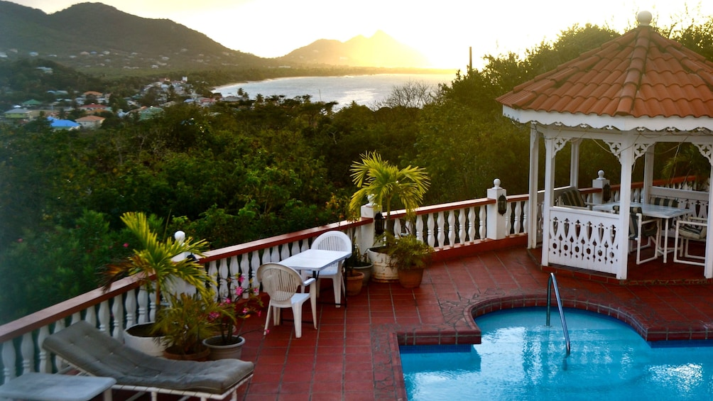 Show item 3 of 5. View from the Grand View Inn Carriacou