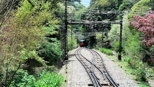 Railroad track in Japan