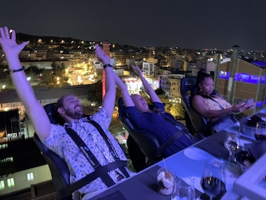 Dinner in the Sky Athens - A once in a life time experience!