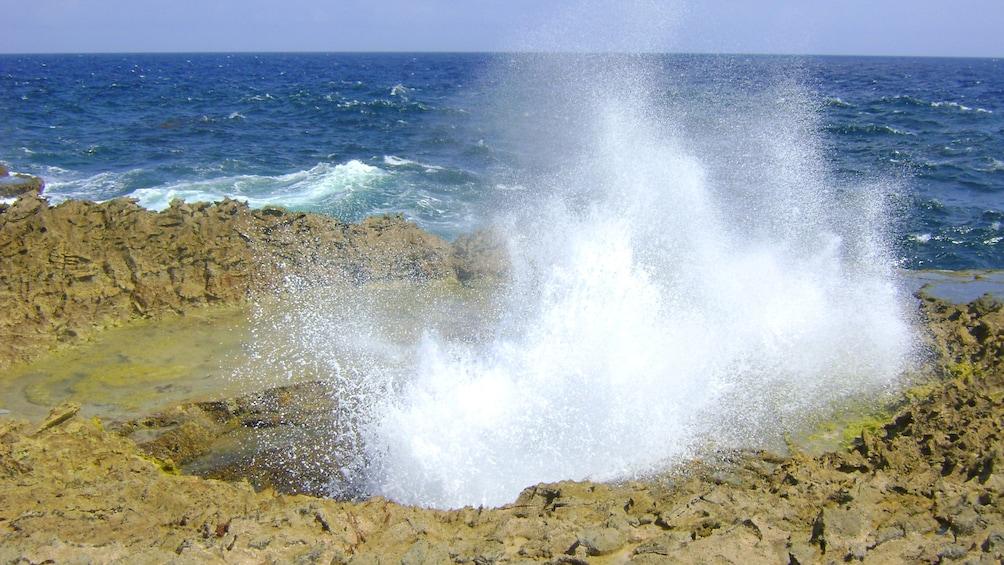 Foto 3 von 5 laden Beach spout in Curacao