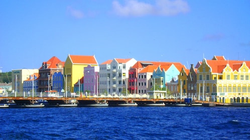Colorful buildings of Curacao
