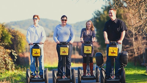 Segway tour group in Sonoma Valley