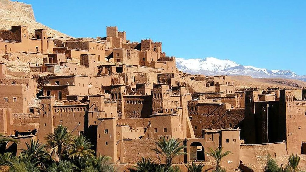 Charger l'élément 4 sur 9. View of city of Ait ben Haddou in Morocco