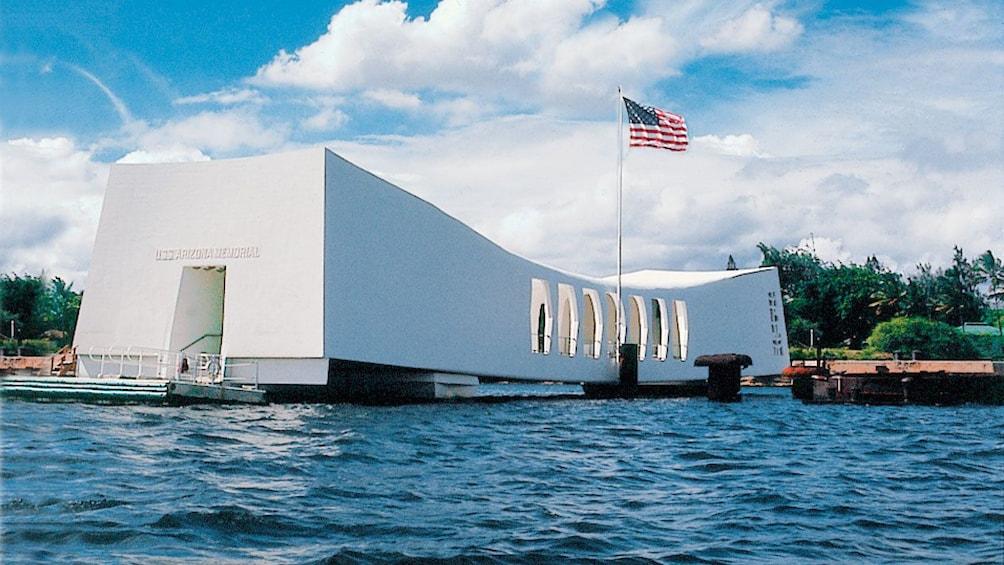 Pearl Harbor memorial in Oahu
