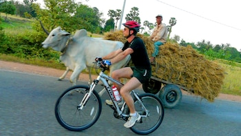 Full-Day Oudong & Country Trails Bicycle Tour