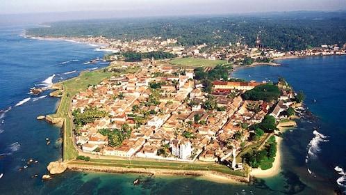 City of Galle in Sri Lanka