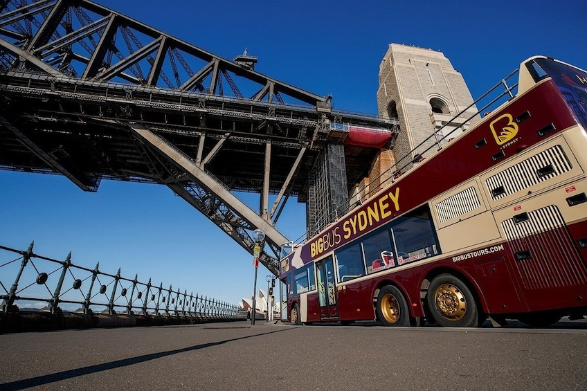 Show item 3 of 8. Sydney Hop-On Hop-Off Big Bus Tour