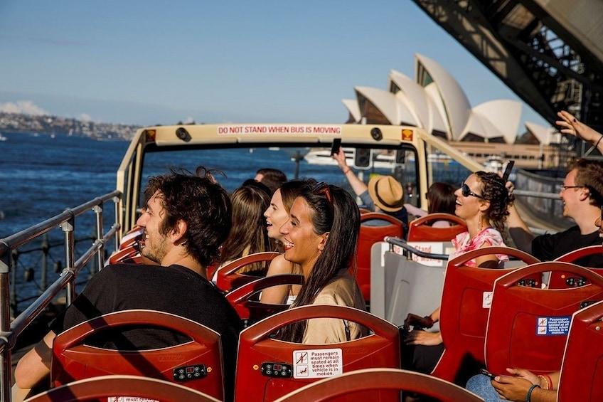 Show item 8 of 8. Sydney Hop-On Hop-Off Big Bus Tour