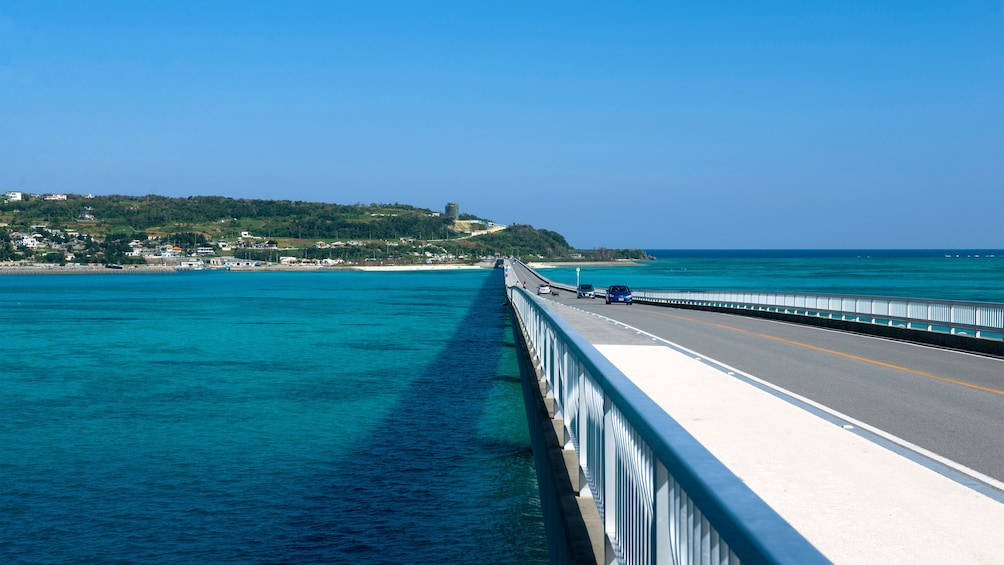 Show item 2 of 4. Long bridge in Okinawa