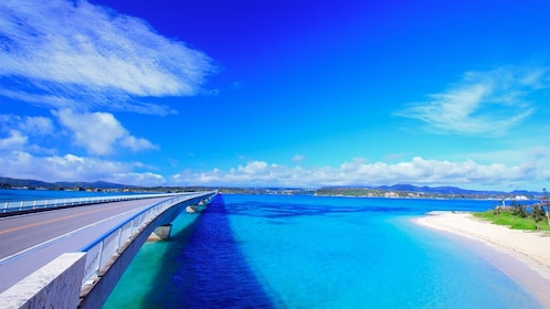 Water view of Okinawa, Japan