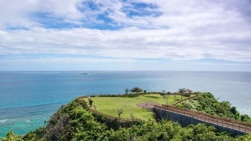 View of Cape Chinen Park in Okinawa