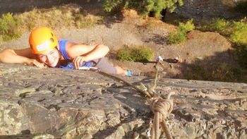 Private Guided Climbing Experience at Kila Rock