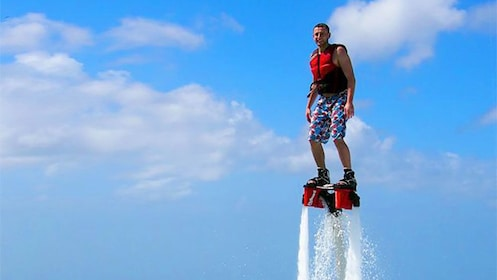 Person on a Flyboard