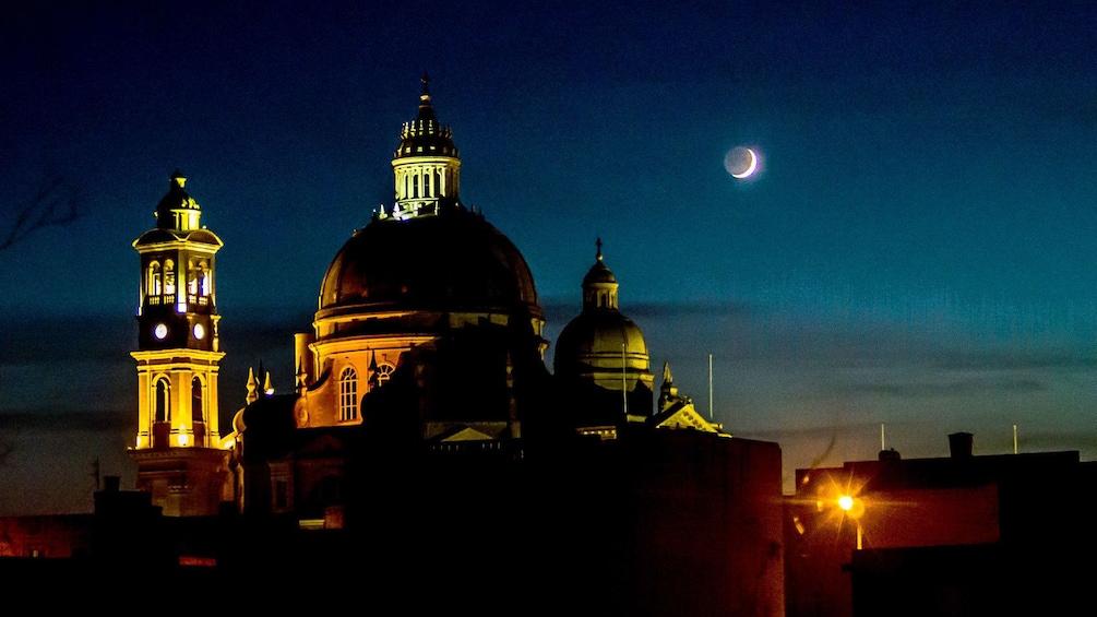 Show item 1 of 5. Night in Valletta, Malta