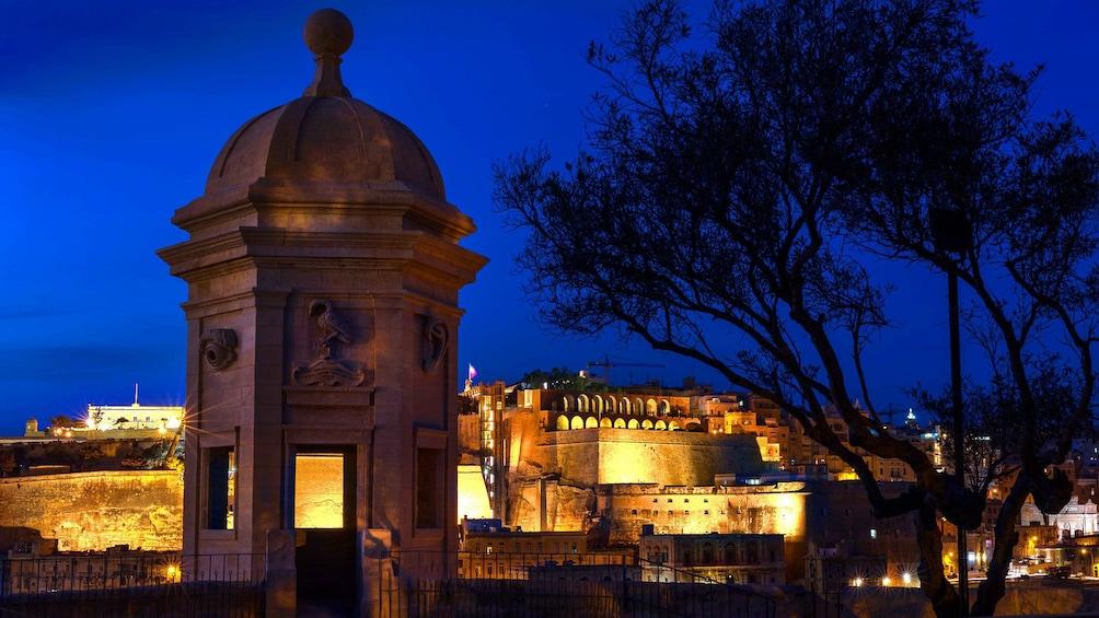 Show item 5 of 5. Night in Valletta, Malta