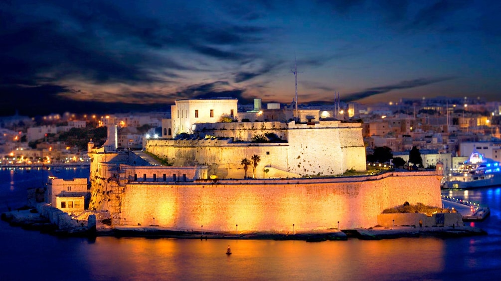 Show item 3 of 5. Night time in Malta
