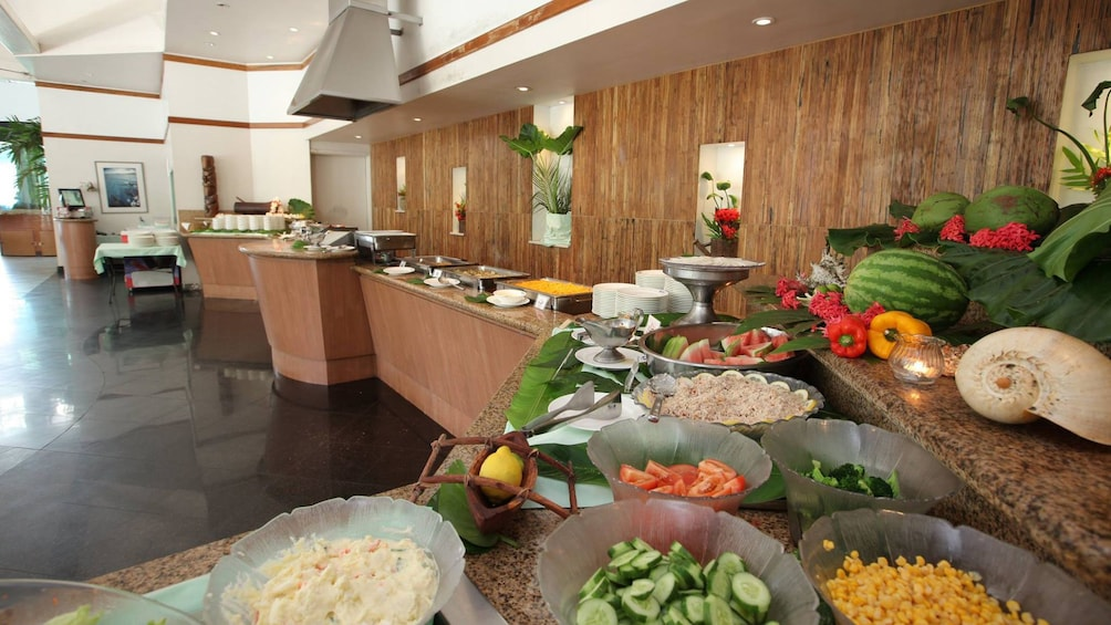 Show item 3 of 4. Buffet lunch in Guam