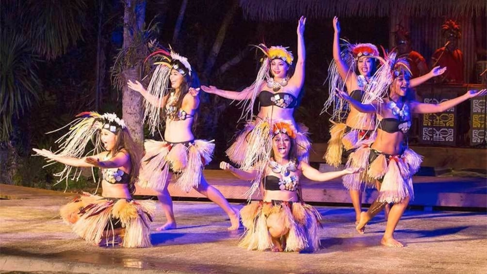 Show item 2 of 5. Dancers at the Polynesian Dinner Show in Guam