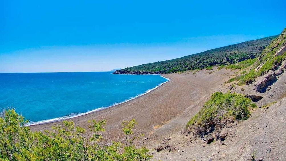Breathtaking view of Nisyros Island in Greece