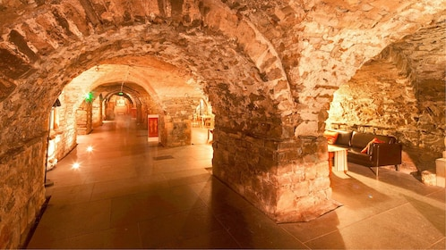 Catacombs in the Christ Church Cathedral in Dublin, Ireland