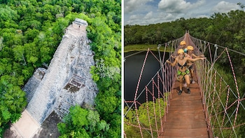 Full-Day Adventure Maya Experience & Coba Tour with Lunch