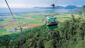 Full-Day Kuranda Tour with Skyrail, Scenic Railway & Tjapukai Night Fire Ce...