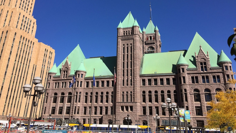 Show item 3 of 5. Exterior of Minneapolis city hall