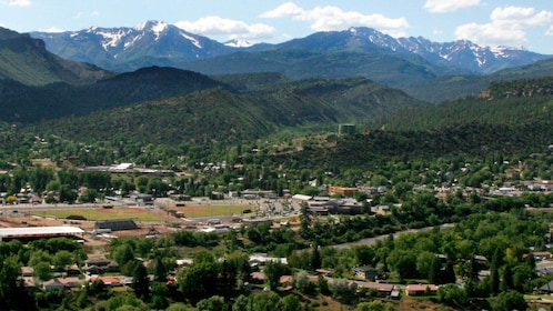 Panoramic view of beautiful Durango