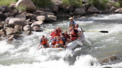 Family Rafting in Durango