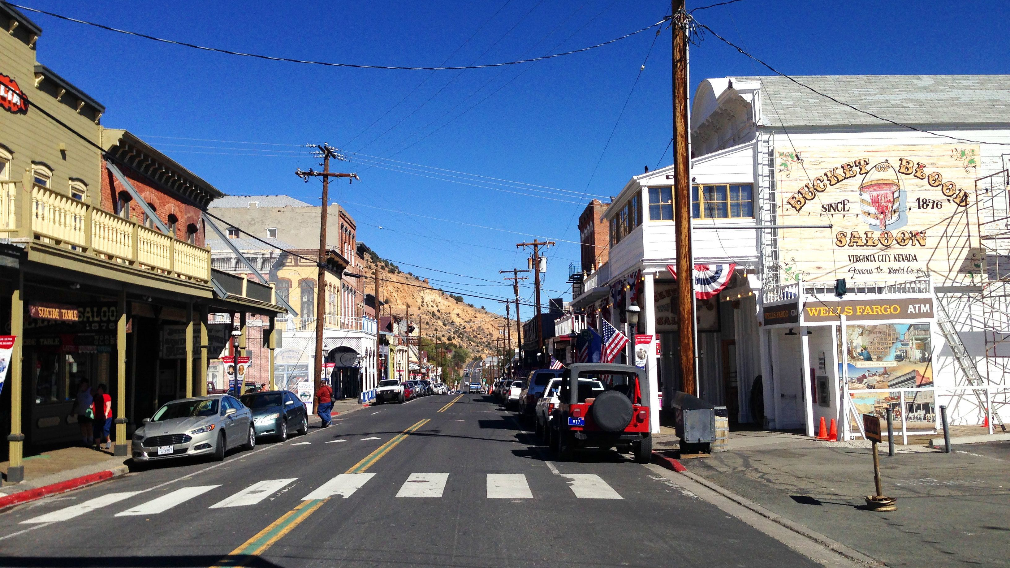 Guided Pony Express Trail Tour to Virginia City with Historic Train Ride