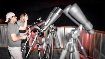 Star-Gazing Tour at Historic Pioneer Saloon with Dinner