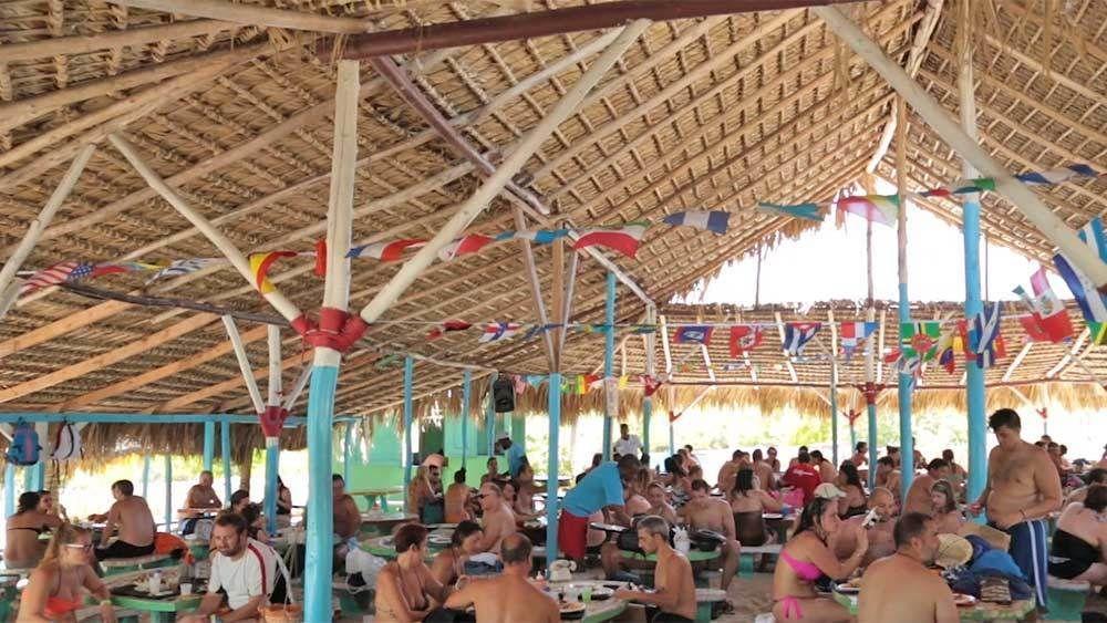 Amusement park in Punta Cana, Dominican Republic