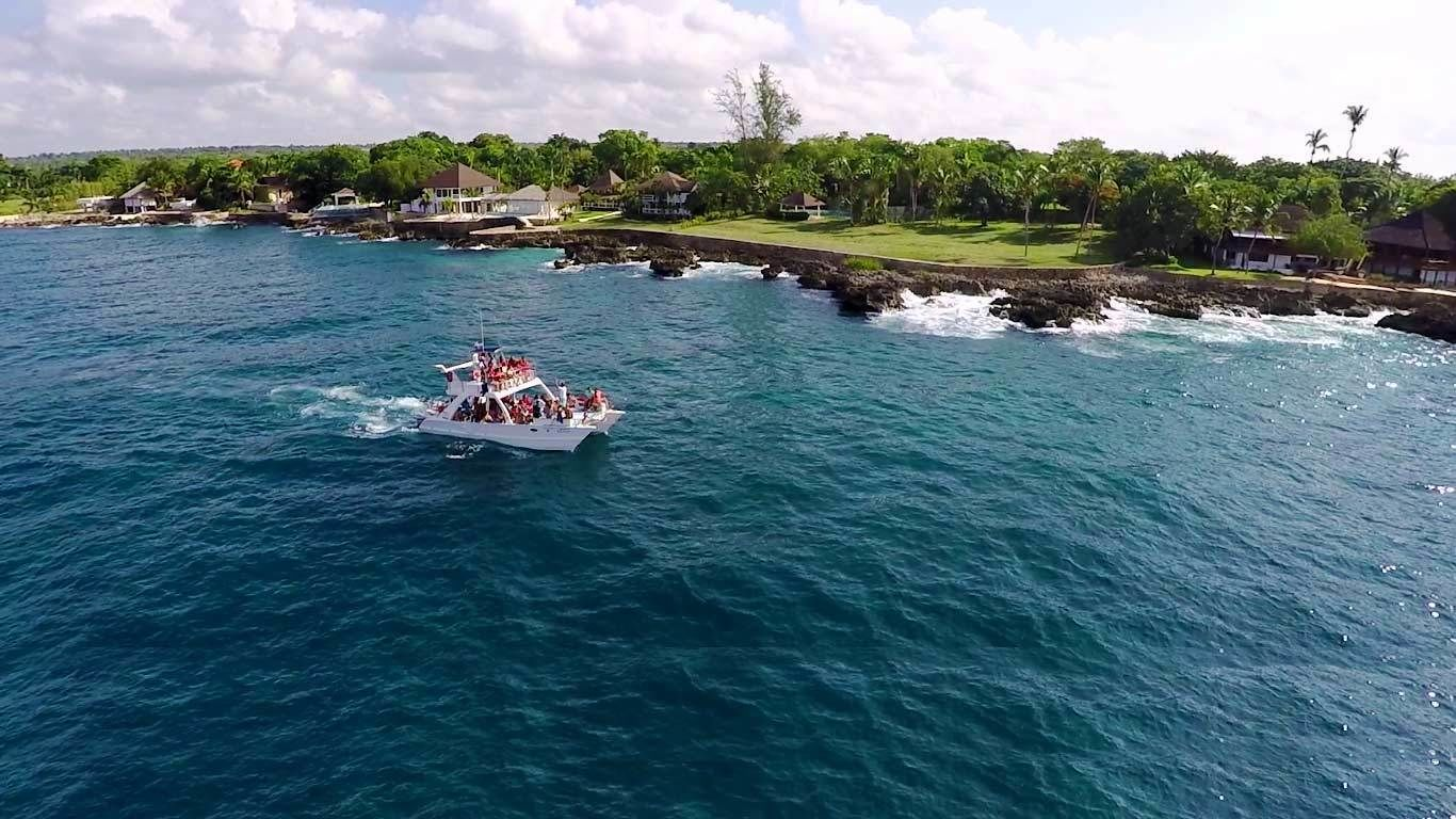 Boat cruise tour in Punta Cana, Dominican Republic