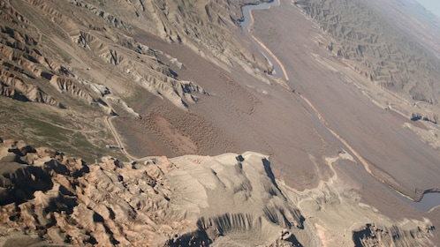 Aerial view of Grand Canyon.