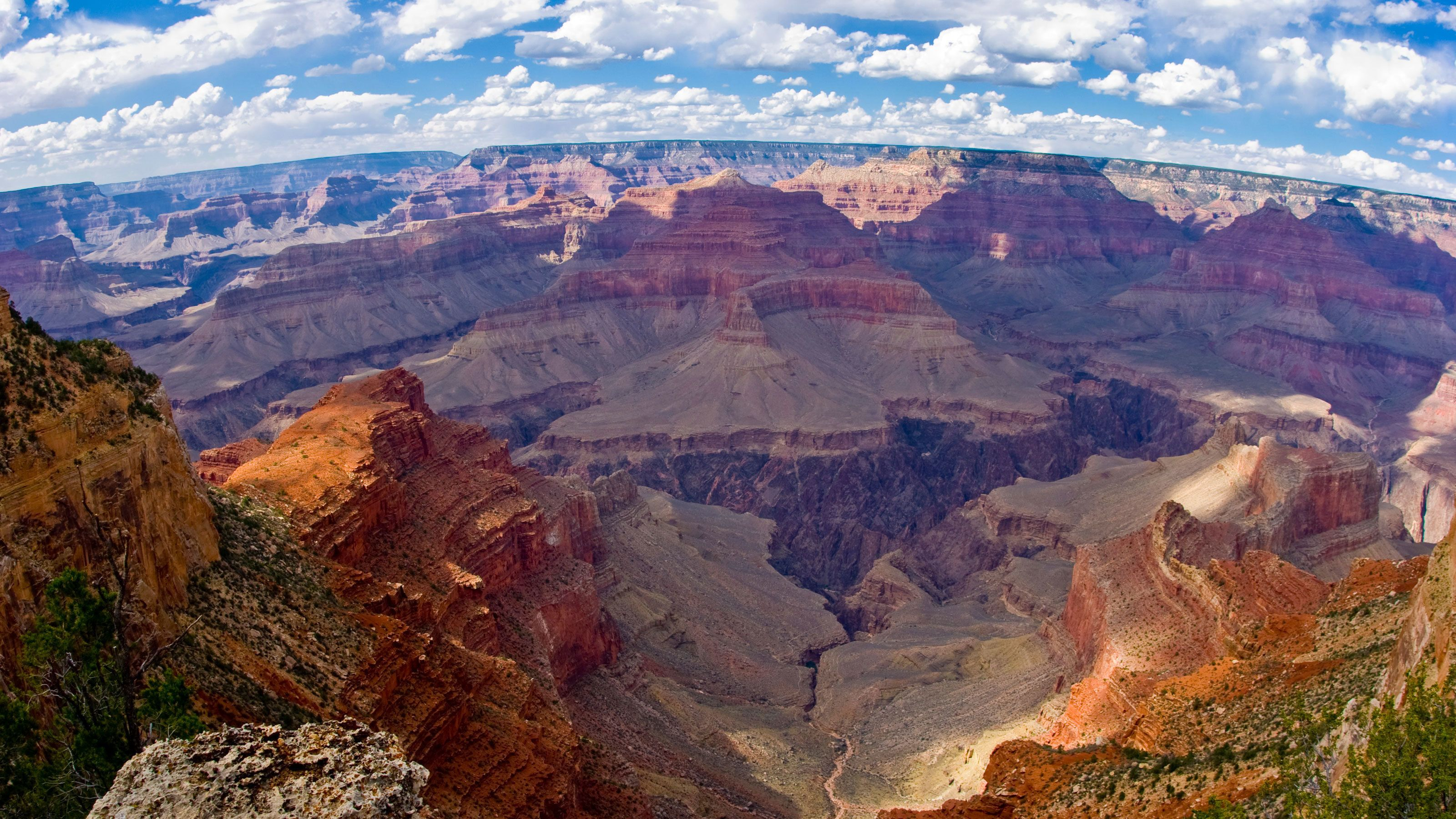 Ariel view of the Grand Canyon in Arizona