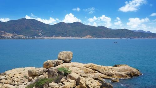 View of bay in Nha Trang