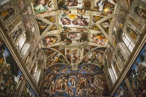 Entire Vatican & Vatacombs: Treasures of the Sistine Chapel
