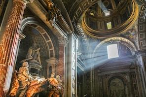 De originele hele Vaticaan- en Vatacomben-tour