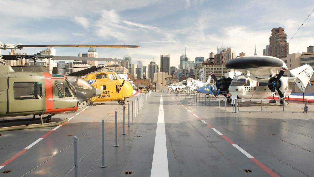 Show item 3 of 8.  Intrepid Sea, Air & Space Museum: Priority Access Tickets