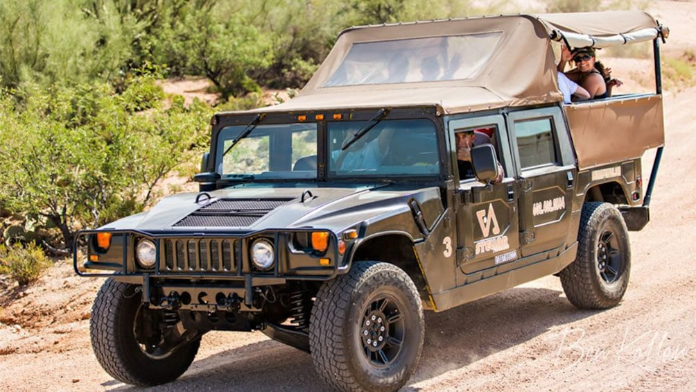 Show item 2 of 5. Hummer tour in the Arizona desert