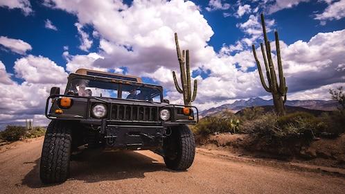 Hummer tour in the Arizona desert