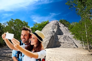 Coba & Tulum with Cenote Mariposa, Mayan Traditions & Lunch
