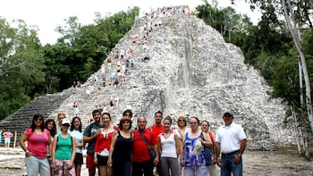 Coba, Nohoch Mul Pyramid & Cenote Wayak Day Trip with Lunch