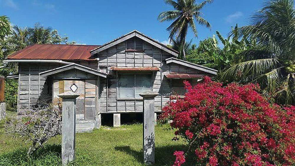 House on the Historical Tour of Saipan
