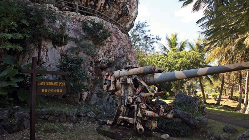 Stunning view on the Historical Tour of Saipan